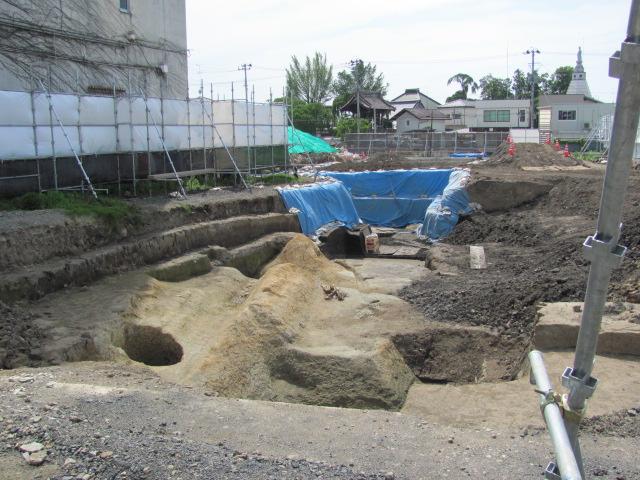 須賀川発掘調査2015.5.17D