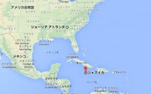 ジャマイカ地図