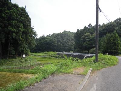 飯山に抜ける道