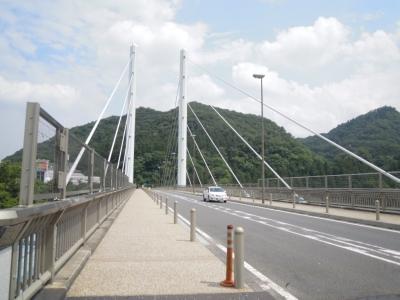 相模湖にかかる橋