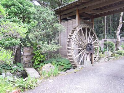 神山滝から出た所