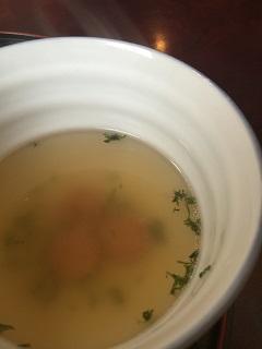 本格炭火やきとり 米吉 スープ