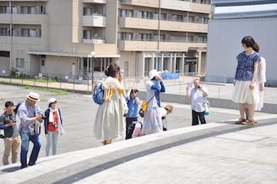 大阪港お散歩3かそまえ撮影中1