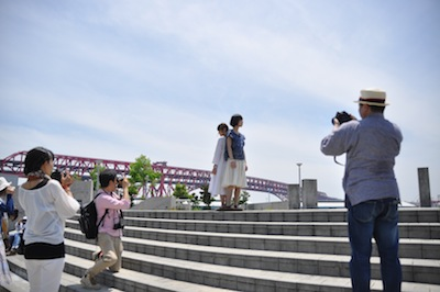 大阪港お散歩3かそまえ撮影中3