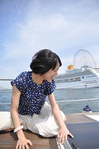 大阪港お散歩3グー船上