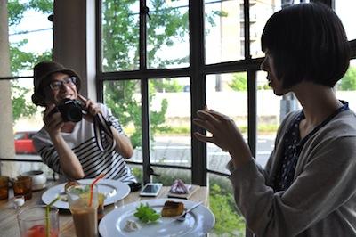 大阪港お散歩3カフェ1