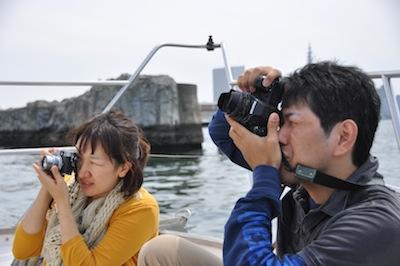 大阪港お散歩3船上