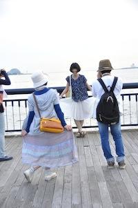 大阪港<br />お散歩3夕日1