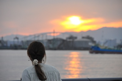 大阪港お散歩3夕日4