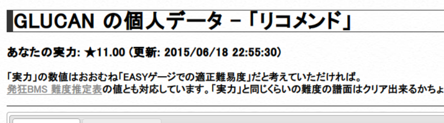 リコメンド★11.00