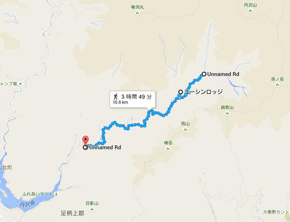 戸田伸二ルートマップ