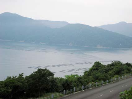 米水津の海岸線