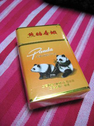 パンダのタバコ2