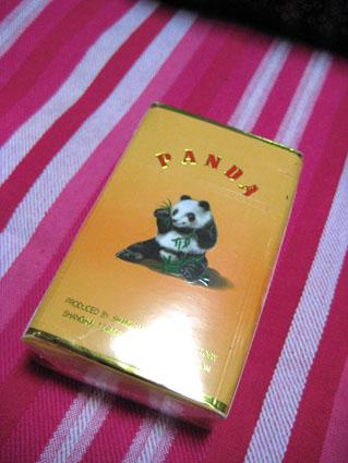 パンダのタバコ