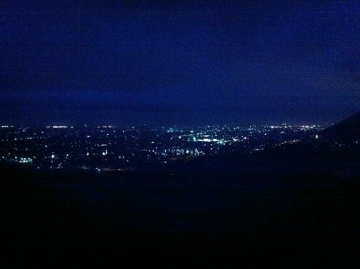 甲府の夜景