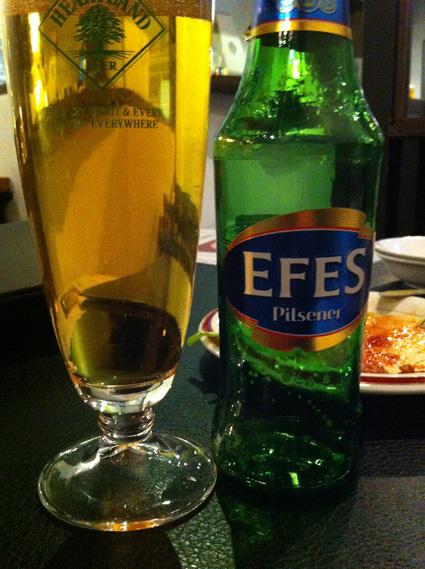 トルコのビール