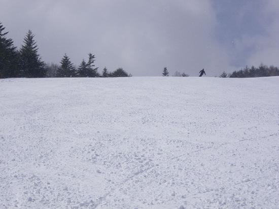 4.5kmの滑走ができます。