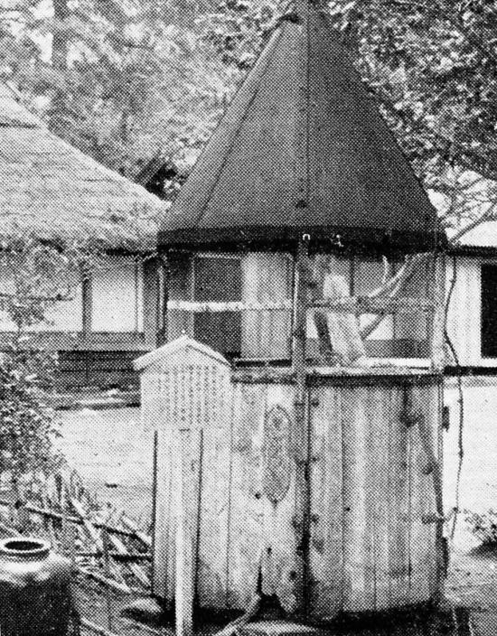 火口降下イベントに使われたゴンドラ(読売新聞1933/05/30)