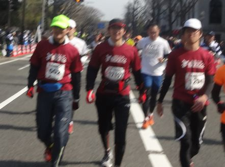 金沢マラソンの宣伝チーム