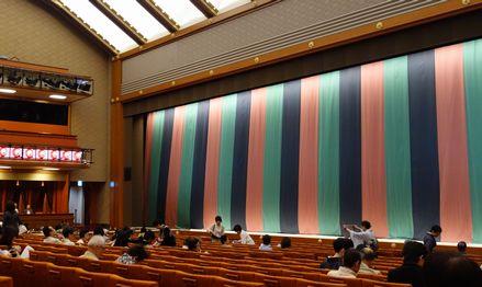 歌舞伎座の定式幕