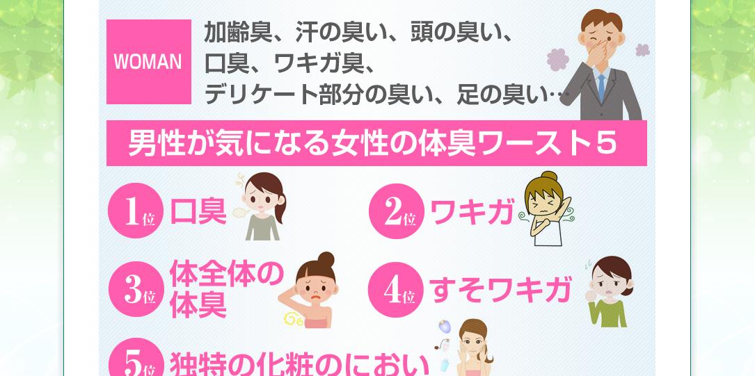 桜大介の口臭・体臭改善プログラム.3 女性