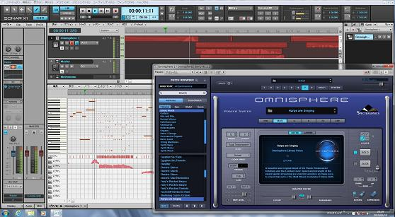 Omnisphere2 Synth patch demo