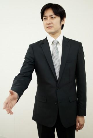 清潔感 スーツ
