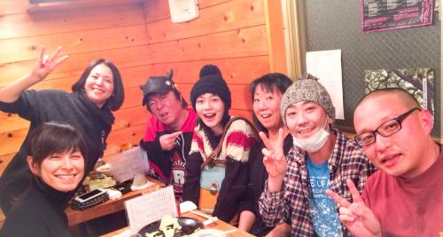 能年、小泉&古田と「あまちゃん」忘年会 「ママ大好き!」