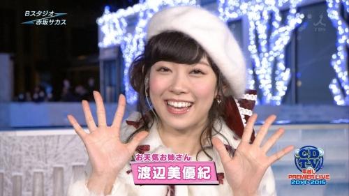 みるきーこと渡辺美優紀(21) 高熱40度が出る中、紅白歌合戦とCDTV生出演し体調不良でダウン