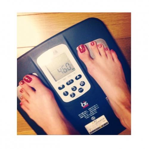 菜々緒、「46kg」 現在の体重を公開・・・ファンから反響