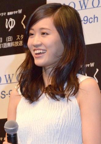 前田敦子、風俗嬢役「ぴったり」に苦笑…WOWOW「翳りゆく夏」完成披露舞台あいさつに出席