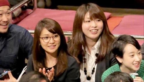 元AKB48の大島優子、野呂佳代と大相撲観戦「1月場所見てきました!! 相撲すき」
