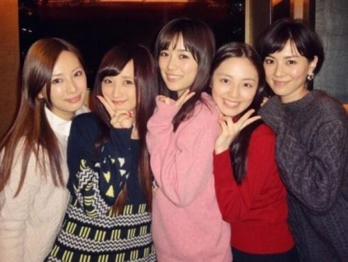 北川景子、セーラー戦士新年会に参加 「今でも仲良しで嬉しい」ファンも感激