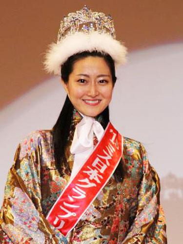 「第47回ミス日本コンテスト2015」、グランプリは元シンクロ日本代表・芳賀千里さん(22)に決定