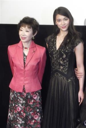 秋元才加、三田佳子が太鼓判「いい女優さんになる素質を持っている」