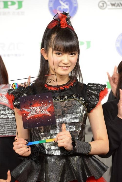 CDショップ大賞に「BABYMETAL」=SU-METAL「すごくドキドキ」