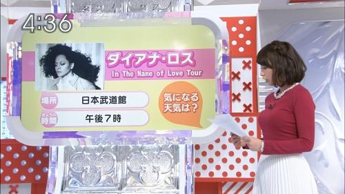 【画像あり】TBSの宇垣美里アナ(23)、日によっておっぱいの大きさが変わることが判明