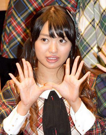 キタリエこと北原里英(23) 新潟「NGT48」に移籍 泣きながら決意表明
