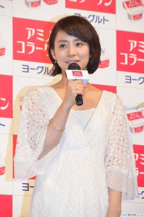 石田ゆり子、ヨーグルトCMでチャーミングな妻を熱演!(画像あり)