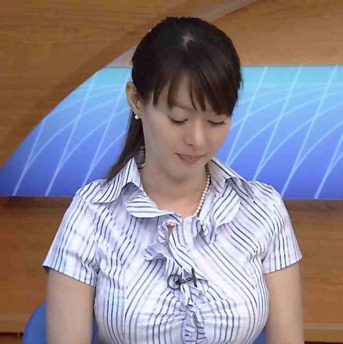 Hカップ元NHKアナ 竹中知華 視聴者から叩かれ巨乳の無意味さ痛感した