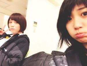 大島優子、『ヤメゴク』妹役・本田翼と2ショット 「本当の姉妹みたい」