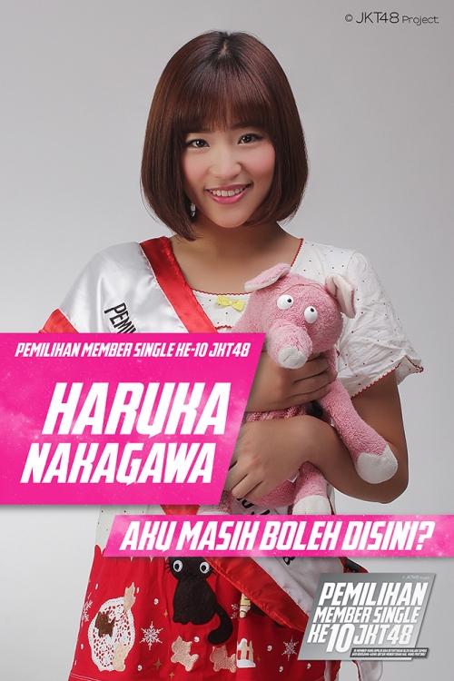 インドネシアで行われたJKT48総選挙 日本人の仲川遥香が2位の快挙