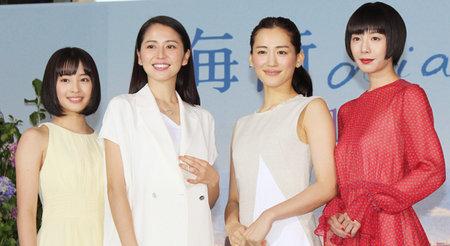 綾瀬×長澤×夏帆×すず 『海街diary』4姉妹がそろってカンヌ入り!