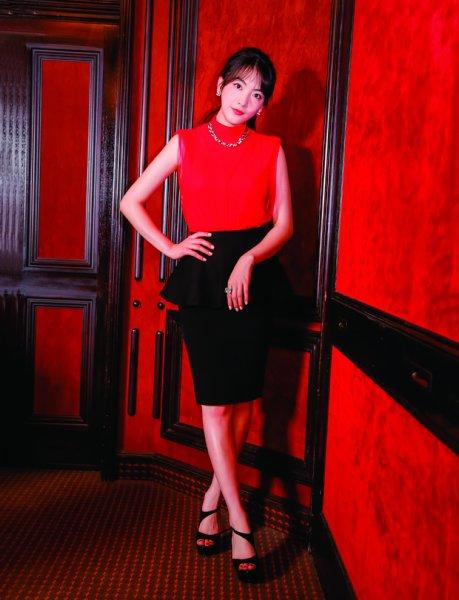 """女優・知英(ジヨン)、「まずは日本のかたに、""""元KARAのジヨン""""ではなく、""""女優の知英""""として認めてもらうことが目標です」"""