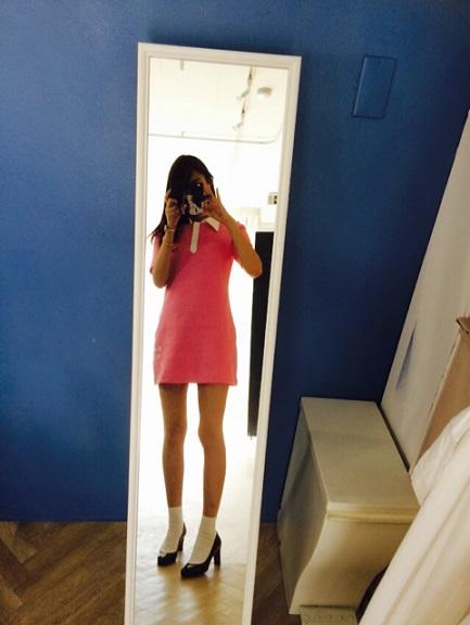 美脚すぎる!山本美月(23)がドラえもんの「しずかちゃん」ファッションに挑戦…ブログで披露