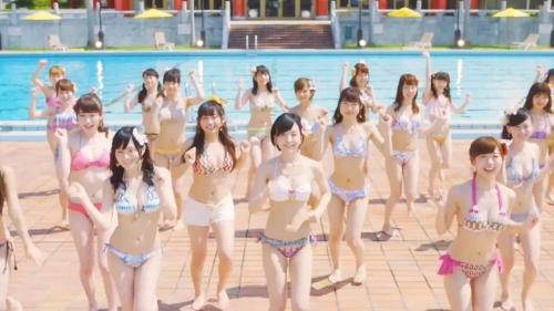 【動画像】15歳少女がおっぱいプルプル NMB48のMVがエロ可愛すぎと話題にwwwwwwwwwwww