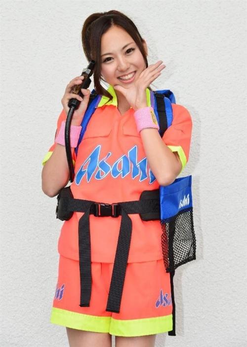 ロッテの売り子アイドル、近々歌手デビューも予定 デビューから1カ月