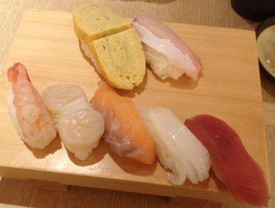 本日のお寿司