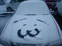 あぽちぇ 雪