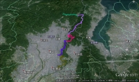 京都一周トレイル・伏見深草~鞍馬